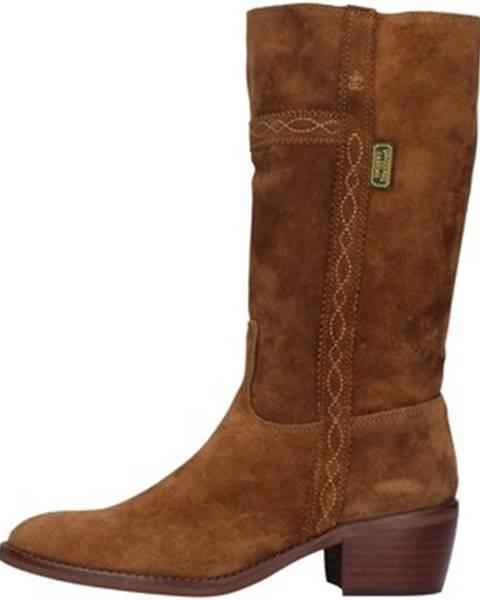 Hnedé čižmy Dakota Boots