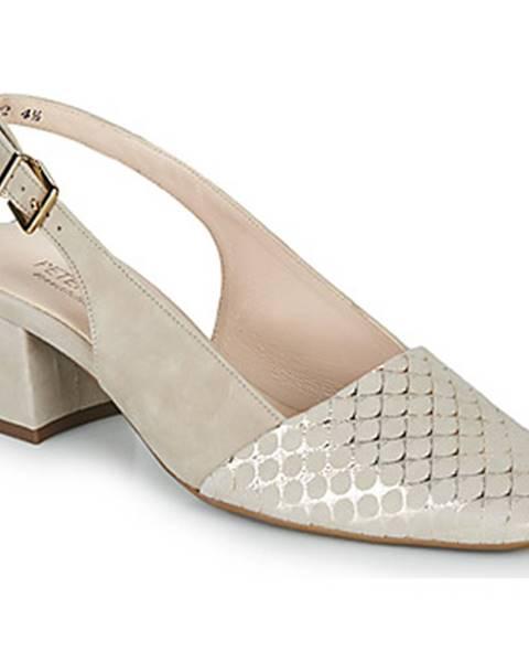 Béžové topánky Peter Kaiser
