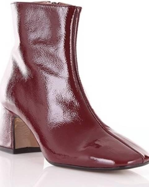 Červené topánky Bianca Di
