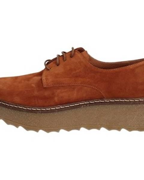 Hnedé topánky Hobby