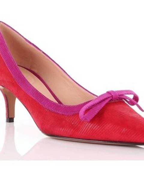 Červené topánky Roberto Festa Milano