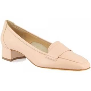 Mokasíny Leonardo Shoes  1324 NAPPA CIPRIA