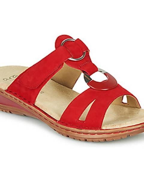 Červené topánky Ara