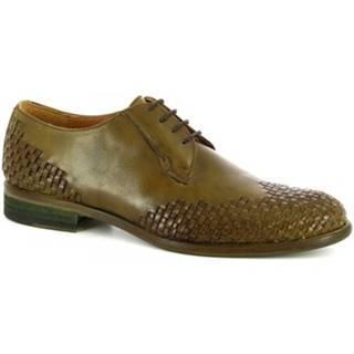 Derbie Leonardo Shoes  C9 PELL. ARIEL VERTE