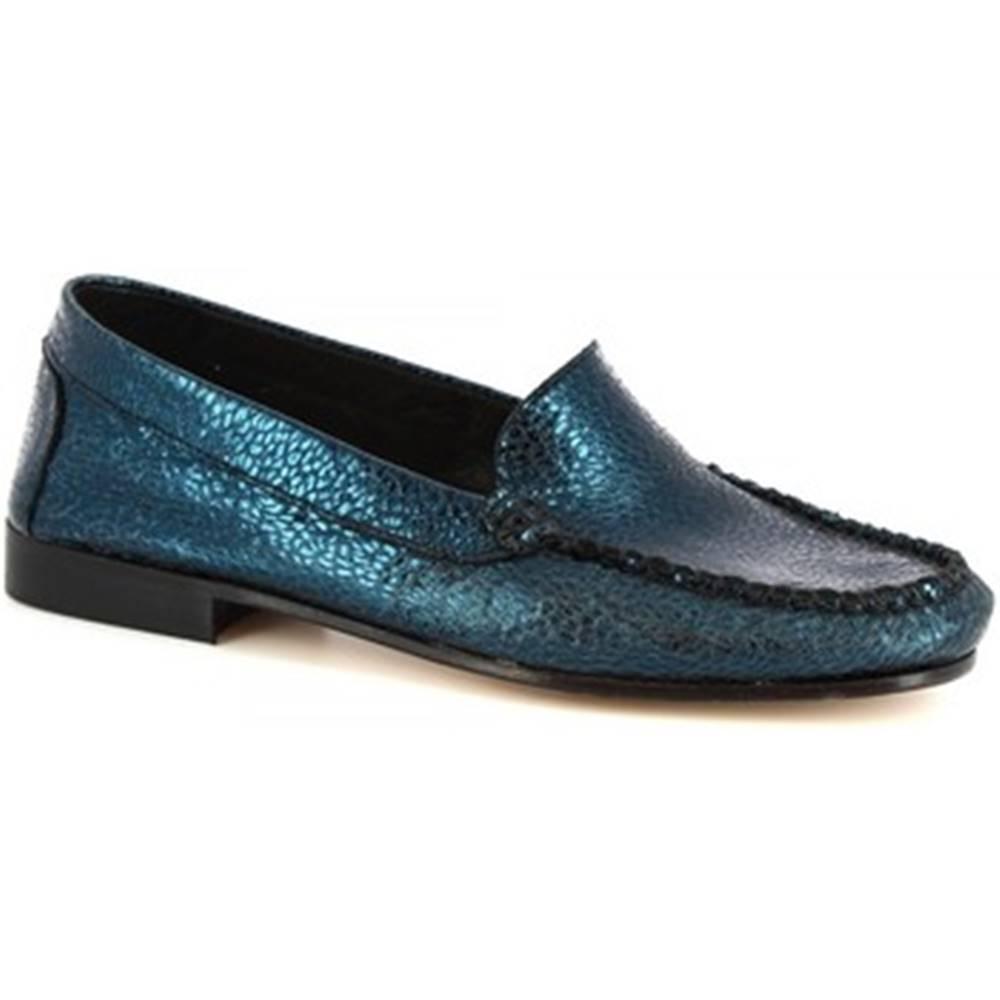 Leonardo Shoes Sandále Leonardo Shoes  318 EQUIPAGE BLEU