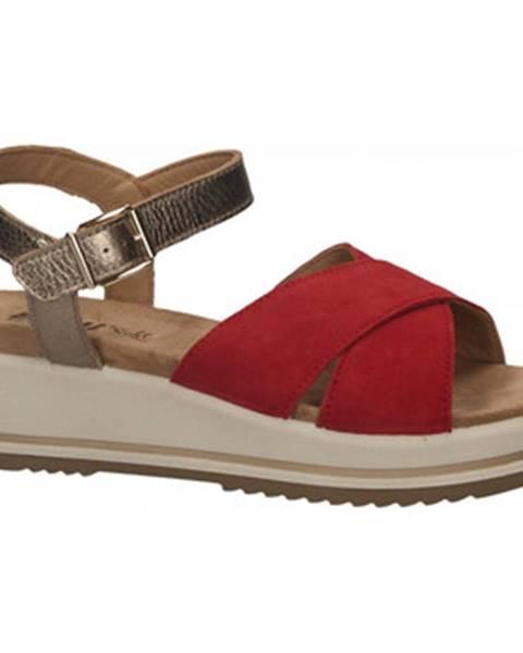 Červené topánky Enval