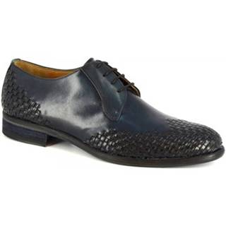 Derbie Leonardo Shoes  C9 PELL. ARIEL NERO