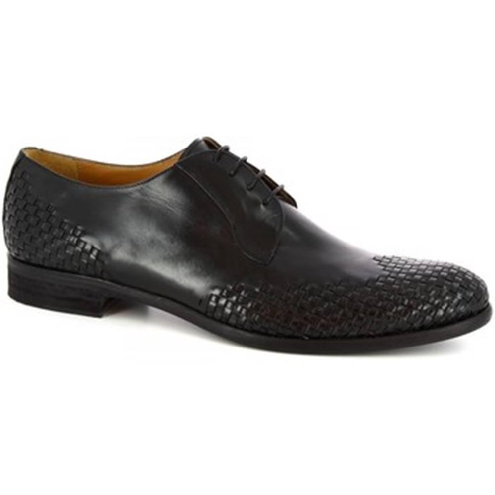 Leonardo Shoes Derbie Leonardo Shoes  C9 PELL. ARIEL BLU