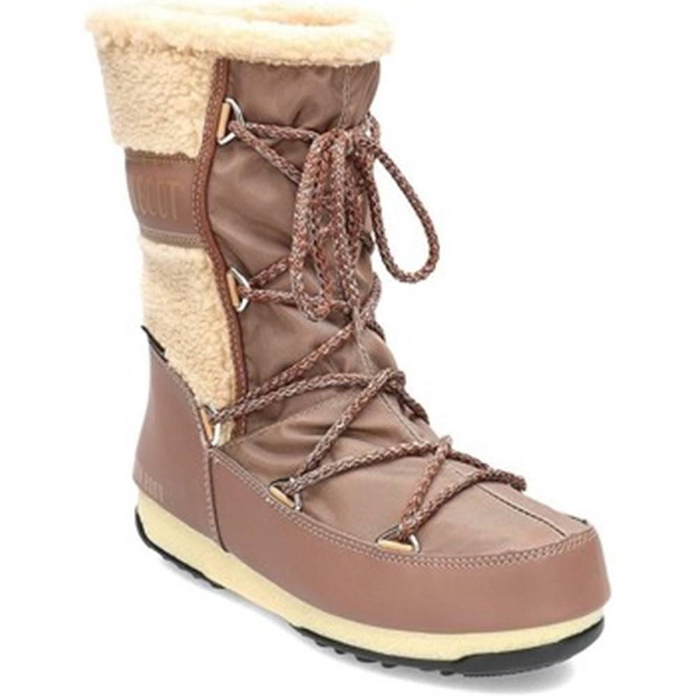 Moon Boot Obuv do snehu  Monaco Wool Mid WP