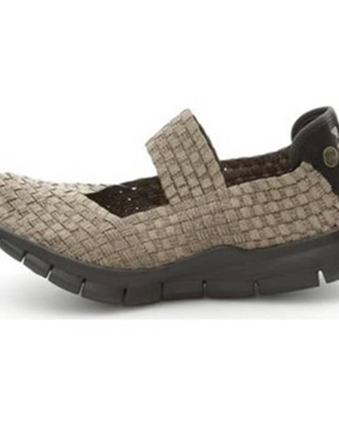 Hnedé topánky Bernie Mev
