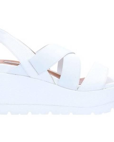 Biele topánky Luciano Barachini