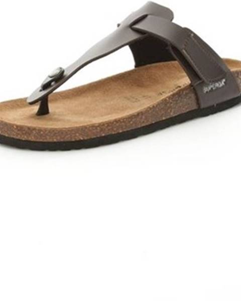 Hnedé topánky Superga