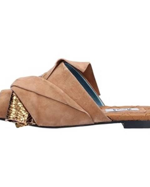 Hnedé topánky Norah