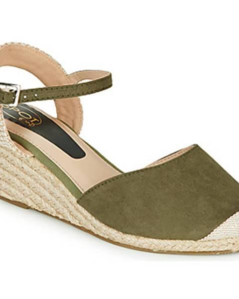 Zelené topánky Spot on