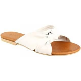 Sandále Leonardo Shoes  PC139 CAPRA BIANCO