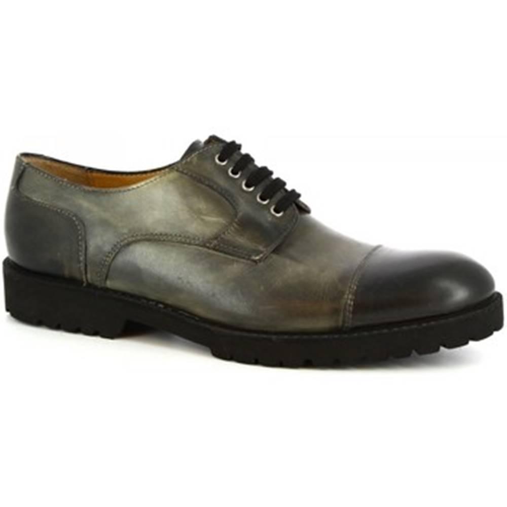Leonardo Shoes Derbie Leonardo Shoes  101 SIVIGLIA GRIGIO