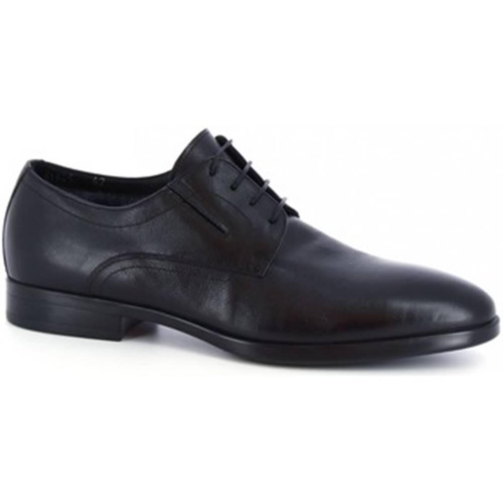 Leonardo Shoes Derbie Leonardo Shoes  41625-I F. 416 GOMMA NEUT N FOD. MERINOS