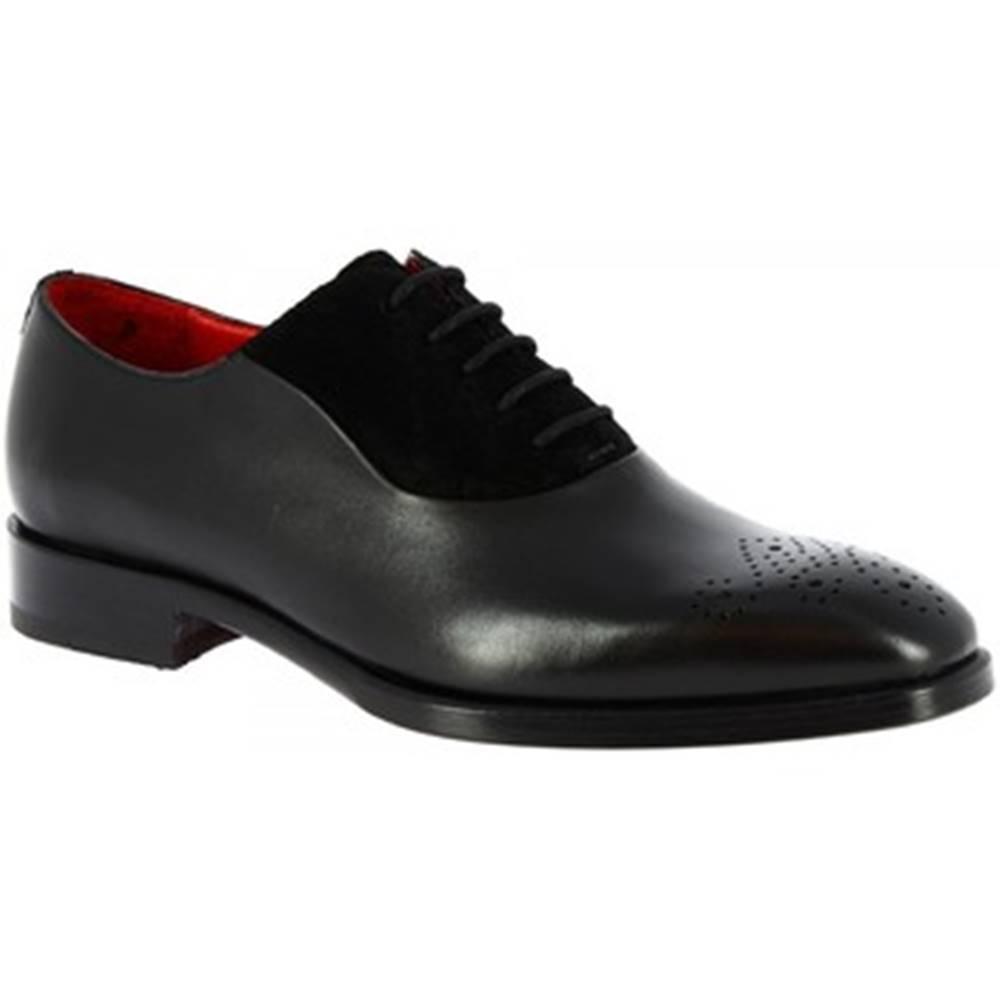 Leonardo Shoes Derbie Leonardo Shoes  8238I18  TOM VITELLO NERO