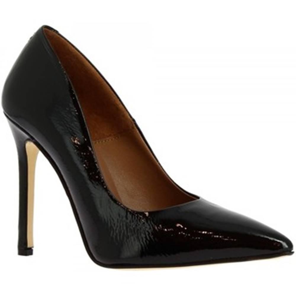 Leonardo Shoes Lodičky Leonardo Shoes  206 NAPLAK NERO