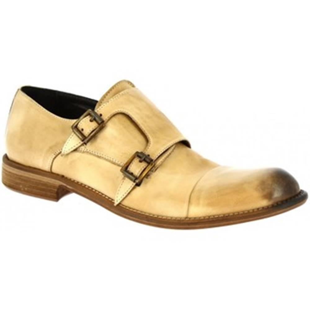Leonardo Shoes Mokasíny Leonardo Shoes  2463/11 PAPUA TUFFATO CUOIO