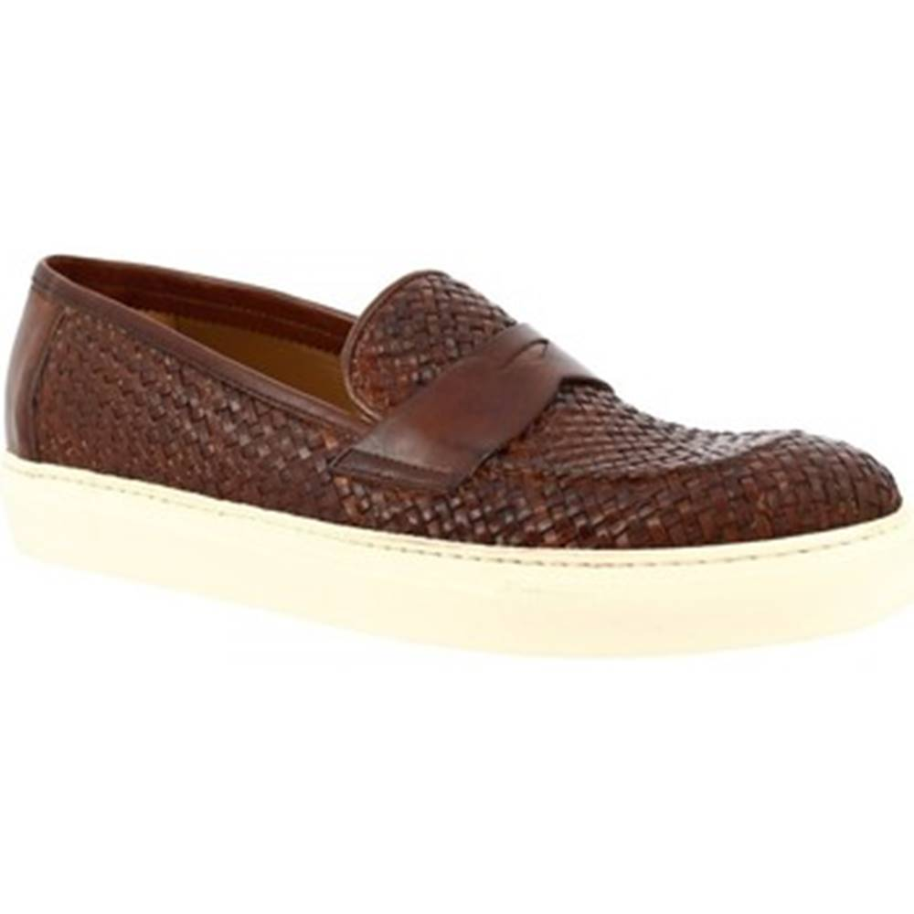 Leonardo Shoes Nízke tenisky Leonardo Shoes  1087_1  VITELLO CUOIO