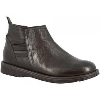 Čižmičky Leonardo Shoes  3007 NERO