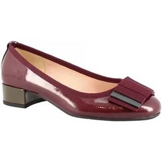 Lodičky Leonardo Shoes  2356 NAPLAK VAMPIRE