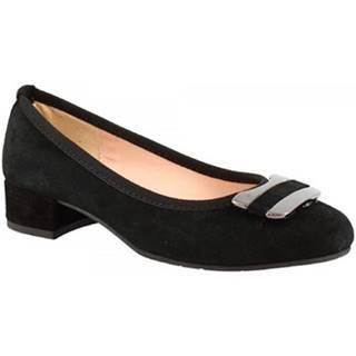 Lodičky Leonardo Shoes  2358 FX NERO