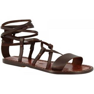 Sandále Leonardo Shoes  519 T. MORO