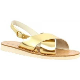 Sandále Leonardo Shoes  560 ORO