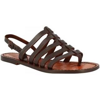 Sandále Leonardo Shoes  576 T. MORO
