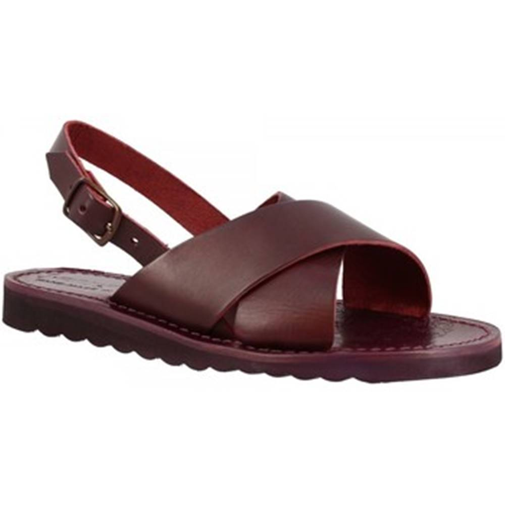 Leonardo Shoes Sandále Leonardo Shoes  560 PRUGNA