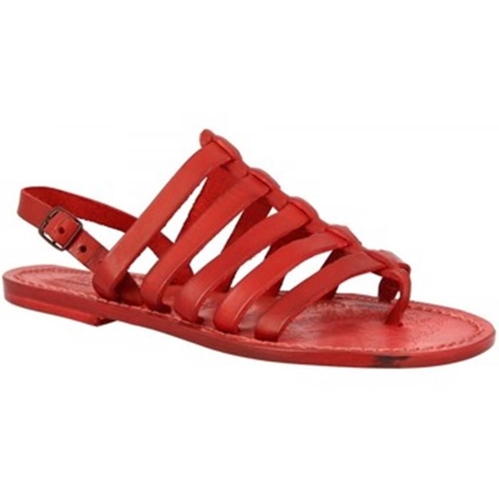 Leonardo Shoes Sandále Leonardo Shoes  576 ROSSO