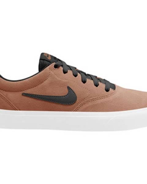 Hnedé topánky Nike