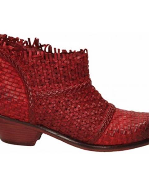 Červené topánky J.p. David