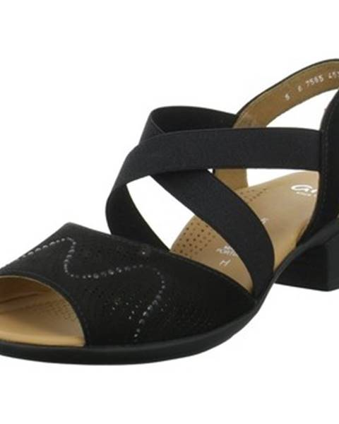 Čierne topánky Ara