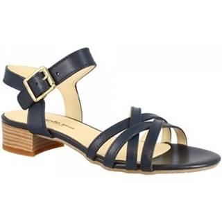 Sandále Leonardo Shoes  M 45 VACCHETTA BLU