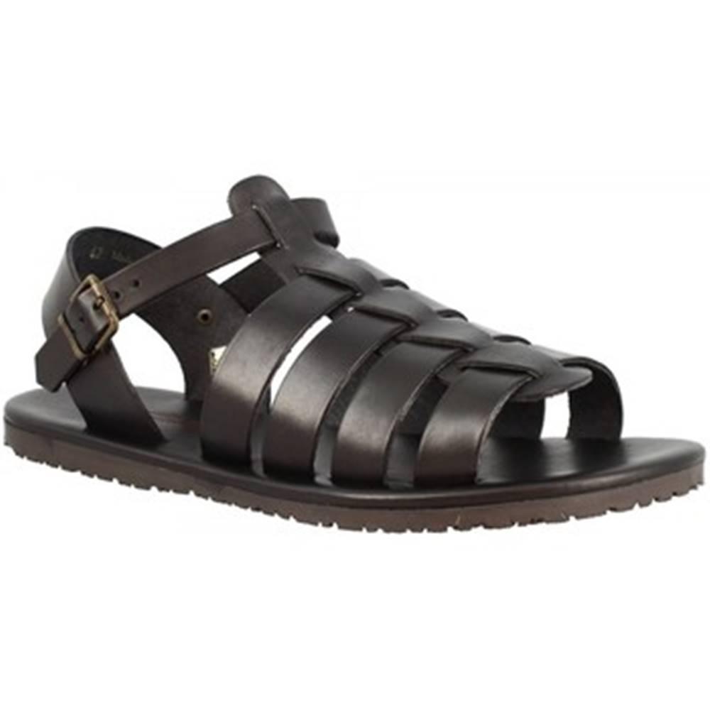 Leonardo Shoes Sandále Leonardo Shoes  M6336 NERO