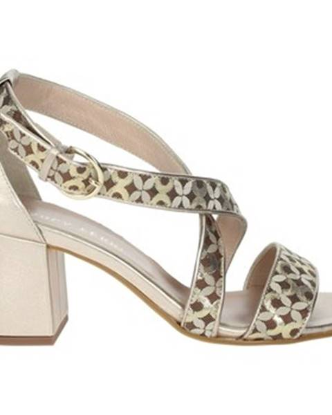 Hnedé topánky Paola Ferri