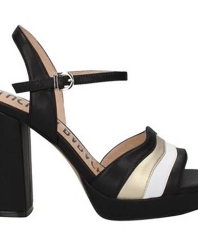 Čierne topánky Oggi By Luciano Barachini