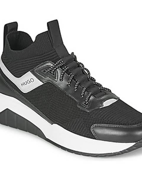 Čierne tenisky HUGO