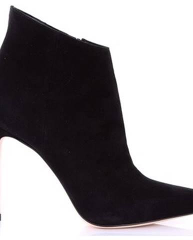 Čierne čižmy Sergio Levantesi