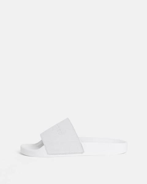 Biele papuče Selected Femme