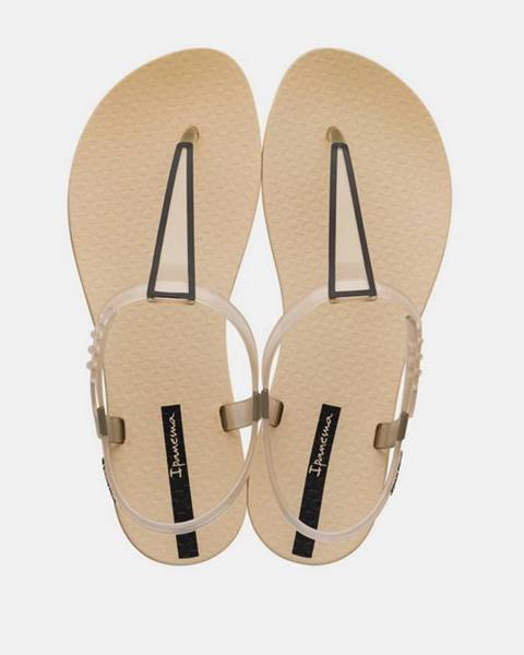 Béžové sandále Ipanema