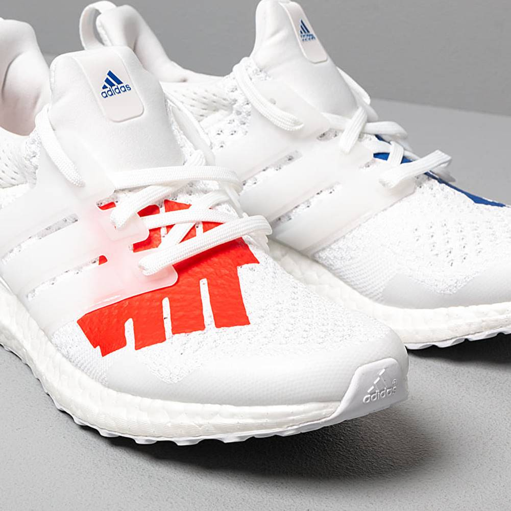 adidas Performance adidas x Undefeated Ultraboost Core White/ Scarlet/ Core White