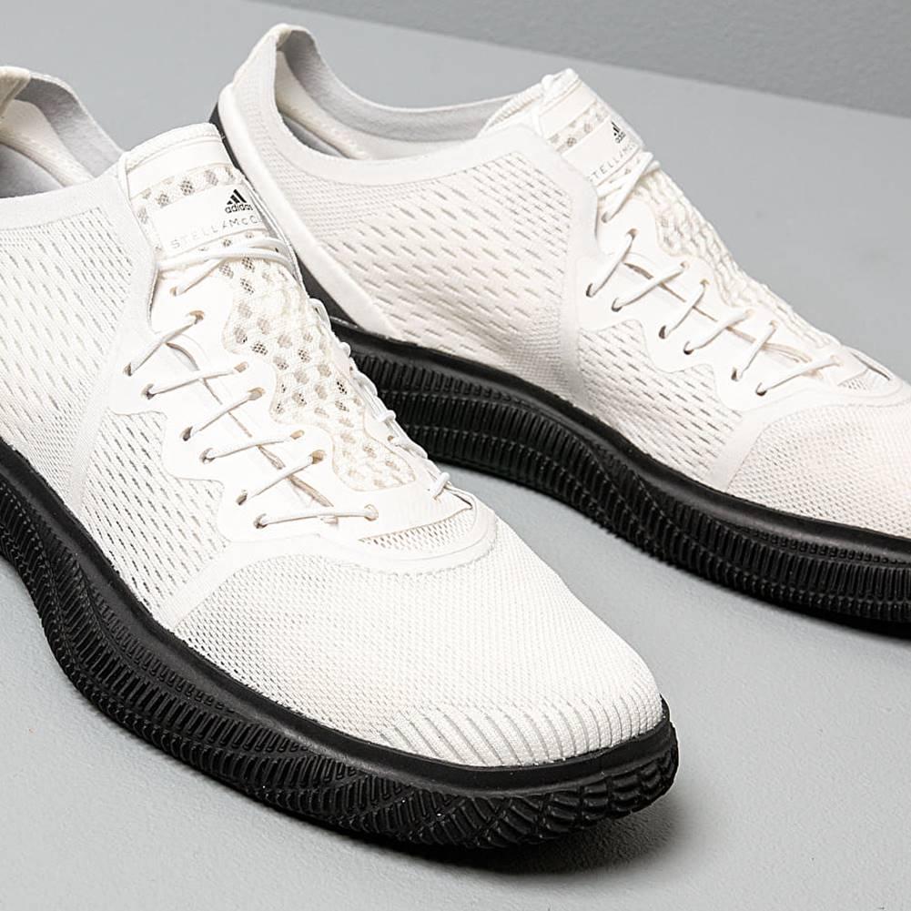 adidas Performance adidas x Stella McCartney PureBOOST Trainer Core White/ Iron Metalic/ Light Solid Grey
