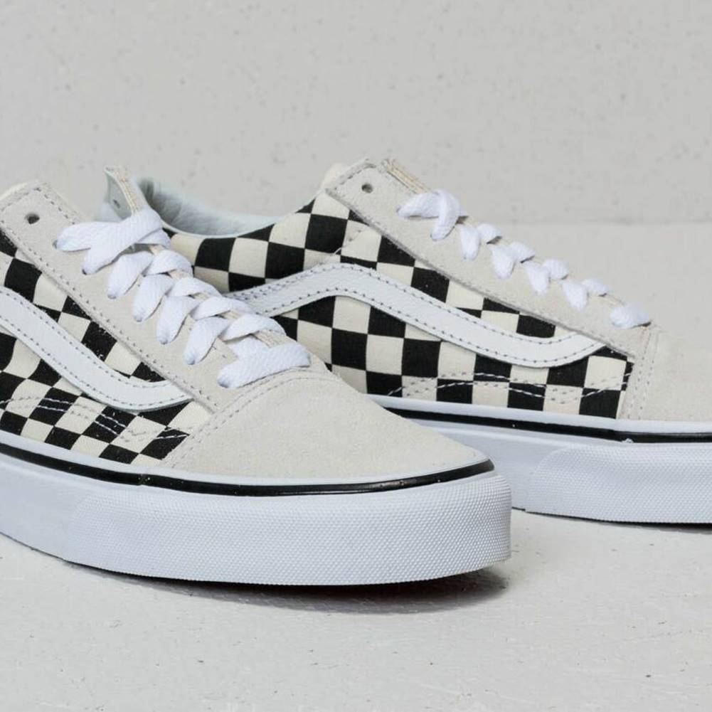 Vans Vans Old Skool (Checkerboard) White/ Black