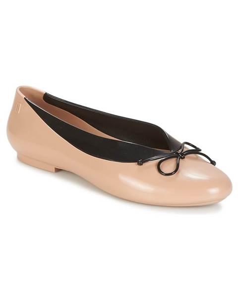 Béžové balerínky Melissa