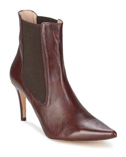 Hnedé topánky Alba Moda