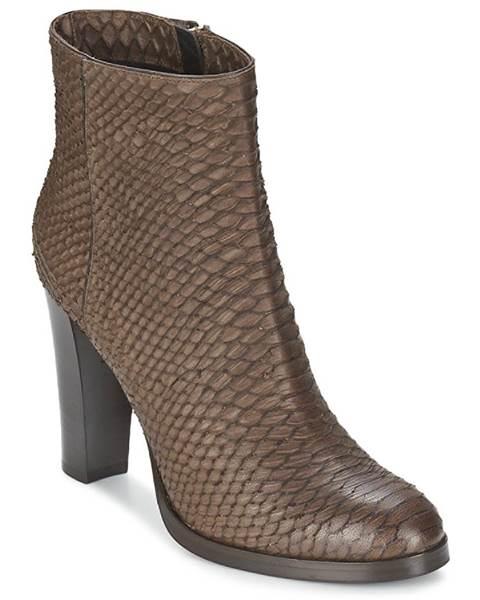 Hnedé topánky Alberto Gozzi